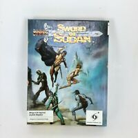 Vintage Sword of Sodan for Amiga Video Game by Innerprise Software Inc In Box