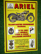ARIEL 4F OHV OHC 4G KG KH VB VG VH NH NG OH OG LG LH WORKSHOP MANUAL 1933-1951