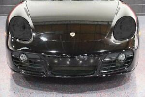 Porsche Boxster Smoked TINT Headlight Blackout Lens Pre Cut Decal Overlay