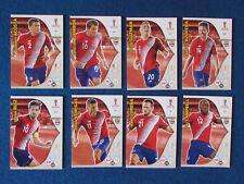 Panini ADRENALYN XL Copa Del Mundo Rusia 2018-Lote de 8-Costa Rica