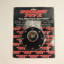 Roaring Toys Quick Release Gas Cap Black 97 14 Yamaha YZF 600 R6 R1 FCY1