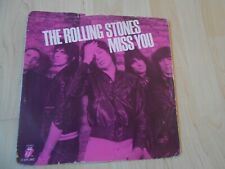 """The Rolling Stones   Miss You  1978 12"""""""