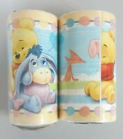 Carta da parati 10 mt x 10cm decorazione stanza Winnie the Pooh bambini baby 2PZ