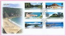 JERSEY Post 2007 - FDC - JERSEY SCENERY - Special Handstamp