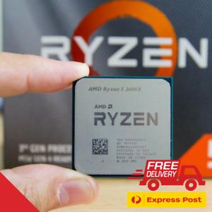 AMD Ryzen 5 3600X (6-Core/12-Thread) Unlocked Processor (Tray, Without Fan)