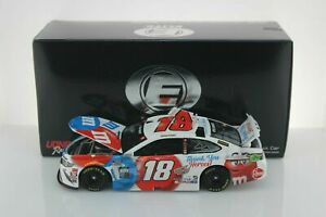 KYLE BUSCH, BRAND NEW 1/24 RCCA-ACTION ELITE, 2020, #18, M&M'S, THANK YOU HEROES