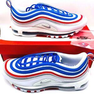 Nike Mens Air Max 97 Running Shoes Multicolor 921826-404 Low Top Mesh 11.5 M New