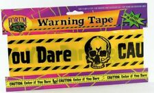 Halloween Fright Tape Enter if You Dare 20ft Halloween Horror Party Decoration