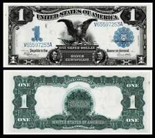 1899 $1 BLACK EAGLE SILVER CERTIFICATE NOTE~BRIGHT & CRISP EXTRA FINE