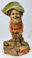 """Tom Clark Gnome Boo with Leaf Hat #1074 Edition #22 6"""" Cairn Studio Figurine"""