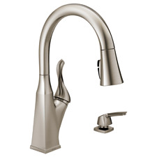Delta Everly Kitchen Faucet SpotShield Stainless - 19741Z-SPSD-DST - BRAND NEW