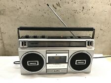 Vintage Quasar Boombox Gx3603 Ghetto Blaster Radio Works For Parts Not Working