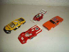 VINTAGE TYCO AFX SLOT CAR BODY LOT DUKES OF HAZZARD