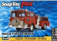 Revell Monogram 1225 Mack Fire Truck Pumper plastic model kit 1/32