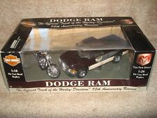Dodge Ram / XL 1200C Sportster 1200 Custom 95th Anniversary Die Cast Replica