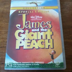 James and The Giant Peach DVD R4 Very good FREE POST