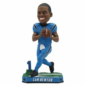 Cam Newton Carolina Panthers Special Edition Color Rush Bobblehead NFL