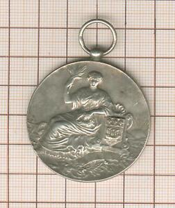 Medal Silver, Thematic Colman's English Mustard Paris 1910, To Daisy Funnel