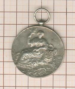 médaille en argent  , thématique charcuterie Paris 1910, à Marguerite Montant