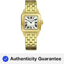 Nuevo Cartier Santos Demoiselle 18kt Oro Amarillo Reloj De Mujer W25062X9