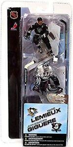 Mario Lemieux Pittsburgh Penguins Giguere Anaheim Ducks mini McFarlane Figures
