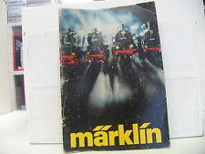 MÄRKLIN  Katalog 1977 SIEHE BILD (Deckblatt defekt)