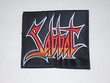 SABBAT THRASH METAL EMBROIDERED PATCH