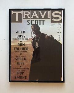 Travis Scott Poster A4