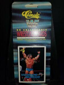 WWF CLASSIC WRESTLING CARDS SEALED RACK PACK 25 CARDS  WWE/WCW/NWA/NWO/AWA