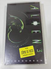 ALIEN 3 + EXTRA WIDESCREEN - TAPE VHS TERROR HORROR NEW SEALED NEW