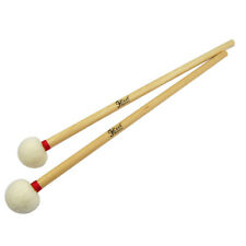 New 1Pair of Timpani Mallets Soft CorkCore Head Mallets Maple Wood Handles