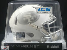 SAN FRANCISCO 49ers (ICE ALTERNATE) Riddell Speed Mini Helmet