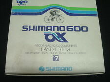 Shimano 600 AX Aero NEW / NOS 120MM Stem Vintage- 22.2MM x 25.4MM- Eroica-