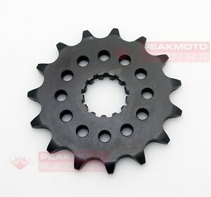 SUNSTAR 32515 15T Steel Countershaft Front Sprocket For Yamaha YZ450F 2003-2019