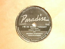 Evelyn Collins 78 MID-SEMESTER BLUES / I'M SO RIGHT TONIGHT~Paradise F to G Det.