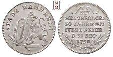 HMM - Pfalz Karl Theodor 1742-1799 Silberabschlag vom Dukaten 1792 - 170711012
