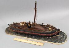 Antique 1940s, Henery Blogg Cromer Lifeboat, Maritime Folk Art Boat Ship Model,