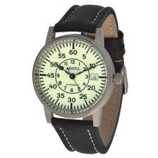 Unisex Armbanduhren im Militär-Stil aus Edelstahl
