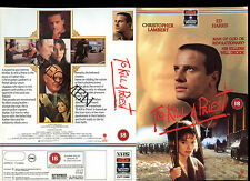 To Kill A Priest - Christopher Lambert - Video Promo Sample Sleeve/Cover #16046