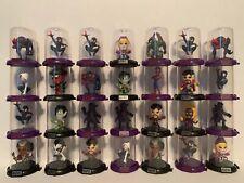 Lot of 28 Marvel Zag Toys Figures - Spiderman Dr. Strange +others!