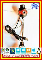 Webcam CMOS Camara HD 12 MPX Web cam Ventosa Microfono para PC Ordenador USB 2.0