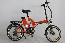 Green Bike USA GB500 motor 48ah/13v Battery Folding Bike ORANGE