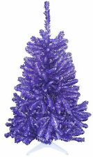 Mount Union, Purple Raiders Purple & White 4FT Christmas Tree Premium Artificial