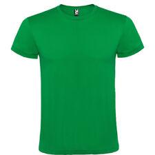 Pack 10 camisetas blancas color Roly 100% algodon lisas hombre adulto niño