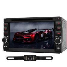 Kamera+Doppel 2Din Autoradio GPS Navigation DVD Player USB SD 7 Farben DVB-T RDS
