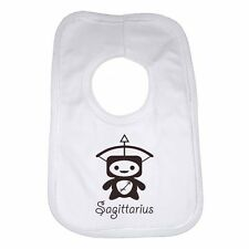 Sagittarius New Baby Star Sign Child Clothes Funny Baby Bib Gift Present