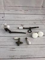 Lot Of Vintage Bathroom Hardware And Fixtures