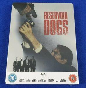 blu-ray RESERVOIR DOGS Steelbook Edition ZAVVI NEW & Sealed UK