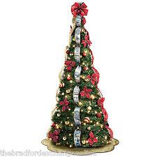 Bradford Exchange Thomas Kinkade Pre-Lit Pull-Up Christmas Tree: Wondrous Winter