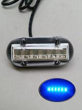 MARINE BOAT  UNDERWATER BLUE ACCENT LIGHT SURFACE MOUNT 6 LED 12V